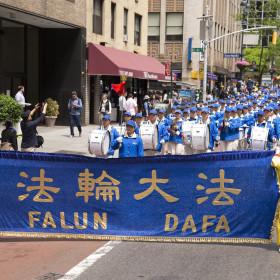 2014.05.14 Falun Dafa Day Parade, NYC, NY