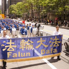 2015.05.15 Falun Dafa Day Parade, NYC, NY