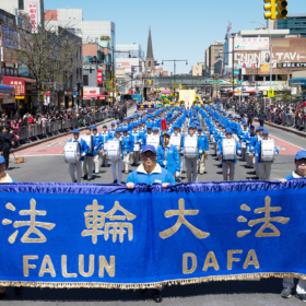 2017.04.23 Falun Dafa Parade, Flushing, NY