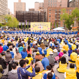 2017.05.13 Falun Dafa Day Performance, Manhattan, NY