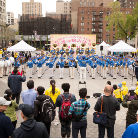 2018.05.10 Falun Dafa Day Performance, Union Square, Manhattan, NY