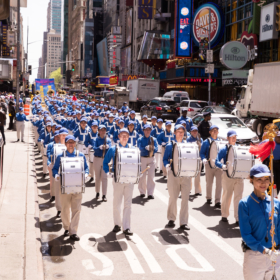 2018.05.11 Falun Dafa Day Parade, Manhattan, NY