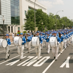 2017.07.20 Falun Dafa Parade, Washington D.C. 2