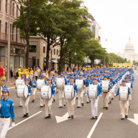 2018.06.20 Falun Dafa Parade, Washington D.C. 1