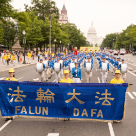 2018.06.20 Falun Dafa Parade, Washington D.C. 2