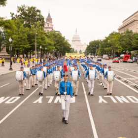 2018.06.20 Falun Dafa Parade, Washington D.C. 3