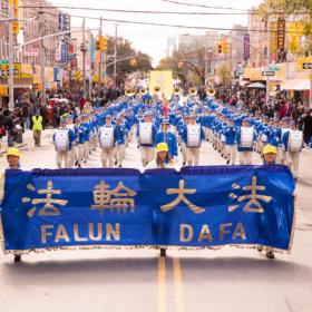 2018.10.21 Falun Gong Parade, Brooklyn, NY